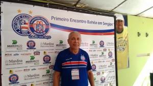 Natanael  Fernandes, presidente do Caju de Aço