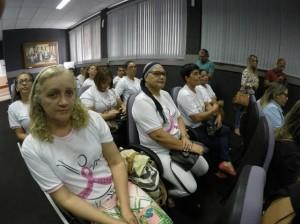Grupo Mulheres de Peito acompanhou a coletiva