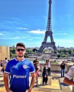 Érico, feliz por não ter ido a Paris na sexta-feira