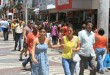 Mesmo com movimento no centro comercial, as vendas no varejo  diminuíram Foto:  Lízia Martins\Ascom PMA