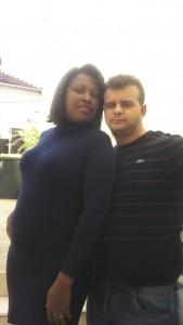 Orcenir e o marido Georges moram perto do Stade de France, onde uma bomba explodiu