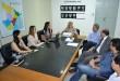 A reunião na PGE aconteceu hoje. Foto: Tatiane Diniz. Ascom/PGE