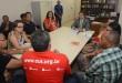 Integrantes do Sintese se reuniram com o procurador do TCE, Eduardo Côrtes Foto: André Moreira