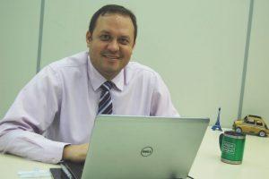 O gerente da Área de Canais e Marketing do Banese, Édivam Clinger Foto: Luis Mendonça