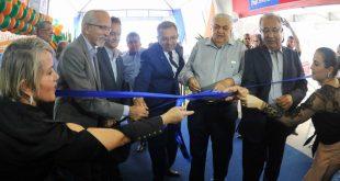 O governador Jackson Barreto e o prefeito Edvaldo Nogueira abrem o Feirão Foto: Janaína Santos