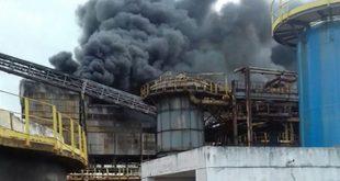 O incêndio começou por volta das 15 horas