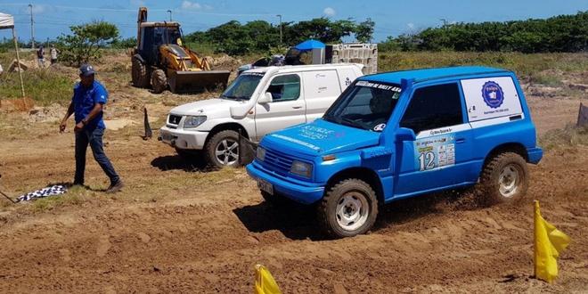O Campeonato Brasileiro de Rally 4x4 ocorreu no terreno onde funcionava o Hotel Parque dos Coqueiros, na Orla da Atalaia