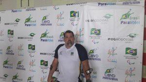 Ângelo Neto, presidente da CBVD, trouxe o evento para Aracaju