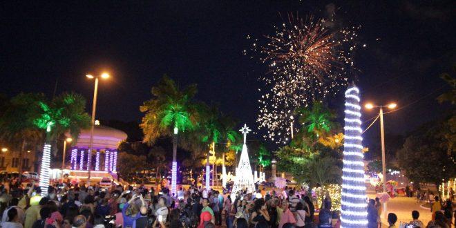 Setenta e cinco mil lâmpadas iluminam o centro de Aracaju