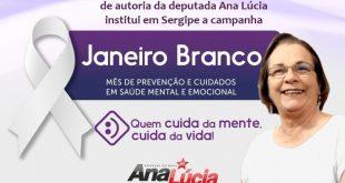 Campanha Janeiro Branco alerta para cuidados com a saúde mental