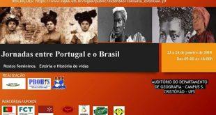 UFS promove Jornada entre Portugal e Brasil