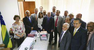 Governador se reúne com bancada em Brasília