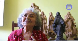 Escultora sergipana abre programa do Canal Cultural Popular