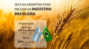 Seca na Argentina pode prejudicar indústria brasileira