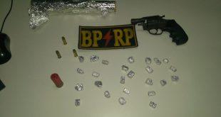 RP prende homem por tráfico de drogas na Piabeta