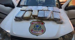 Homem é preso pela PF com 30 quilos de cocaína