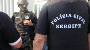 Policiais prendem homicida em Lagarto