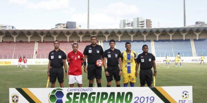 Sergipe goleia o Frei Paulistano por 4×0