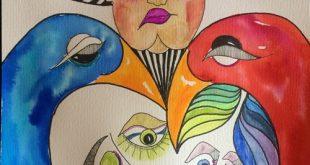 """Alfredo Mallet: """"pintar é uma terapia para mim"""""""