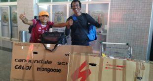 Depois de pedalarem 3.300 km, ciclistas voltam para Aracaju