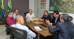 É de Sergipe faz visita de cortesia a Nitinho na Prefeitura