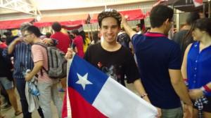 O chileno Eduardo Delgado