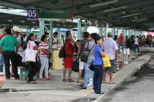Passageiros foram surpreendidos com a greve