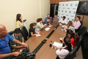 Superintendente do DNIT, Ismael Silva, convocou a imprensa para anunciar início das obras