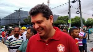 Márcio Macedo representou o PT nacional