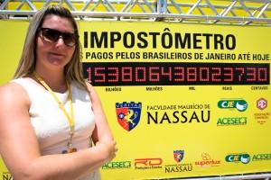 Giomara Basso, diretora da Faculdade Maurício de Nassal. Foto: Wenderson Wanzeller
