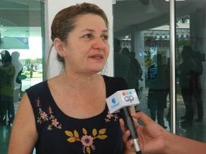 Ivânia Pereira, presidente do Sindicato dos Bancários de Sergipe
