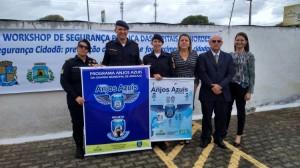 Guarda Municipal de Aracaju no workshop