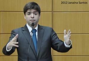Deputado Paulinho das Varzinhas também está afastado Foto: Janaína Santos. Agência Alese