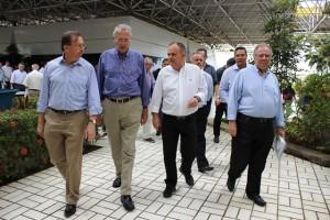 Presidente da Fies, Eduardo Prado, recebe o vice governador Belivaldo Chagas