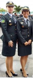 A irmãs capitã Manuela e a tenente Cláudia comandam a Cptran