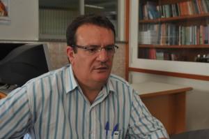 Luiz Moura, economista do Dieese, diz que a taxa de emprego caiu no Estado. Foto: Jorge Henrique
