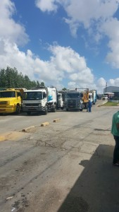 Caminhões foram fiscalizados pela Adema