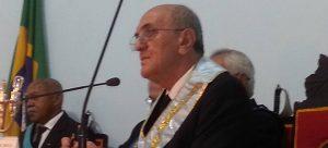 Ibrahim Salim, venerável da Loja Maçônica Cotinguiba