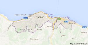 Trabzon, cidade turca onde está a delegação brasileira