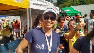 """Luciana Ramos: """"corrida show de bola"""""""