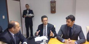 Cristiano Barreto considerou importante a reunião no TJ