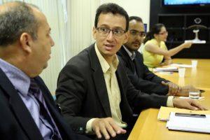 Cristiano Barreto debate com desembargadores