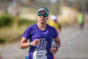 Luciana: correrá 53 km pela primeira vez