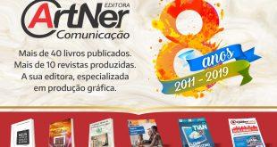 Editora ArtNer completa oito anos