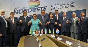 Governadores lançam Consórcio Nordeste