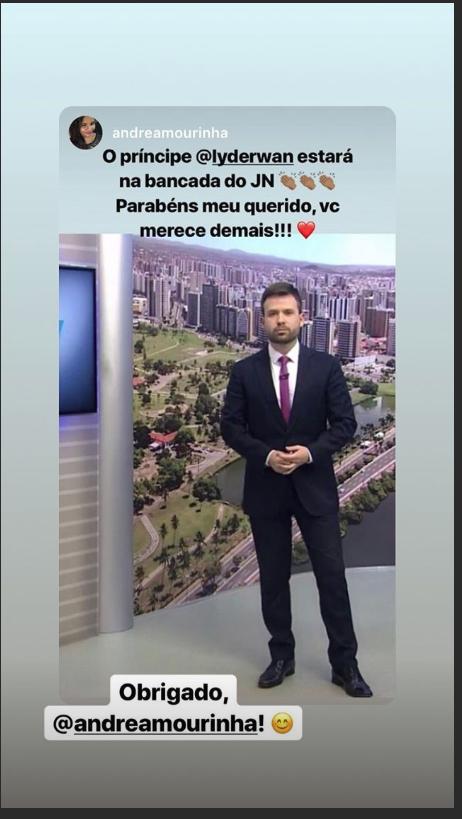 âncora Do Bom Dia Sergipe Apresentará O Jornal Nacional Só