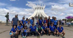 Motociclistas sergipanos são recepcionados em Brasília durante  Capital Moto Week