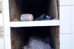 Homem com  problemas de alcoolismo dormia em sepultura no município de Ribeirópolis