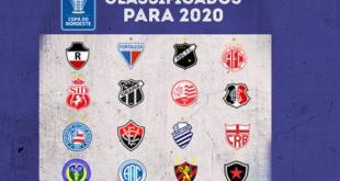 Copa do Nordeste 2020 vai começar por Aracaju; sorteio das equipes será dia 26, quinta-feira