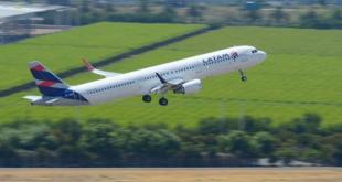 Latam fará mais dois voos diários de Aracaju para Guarulhos